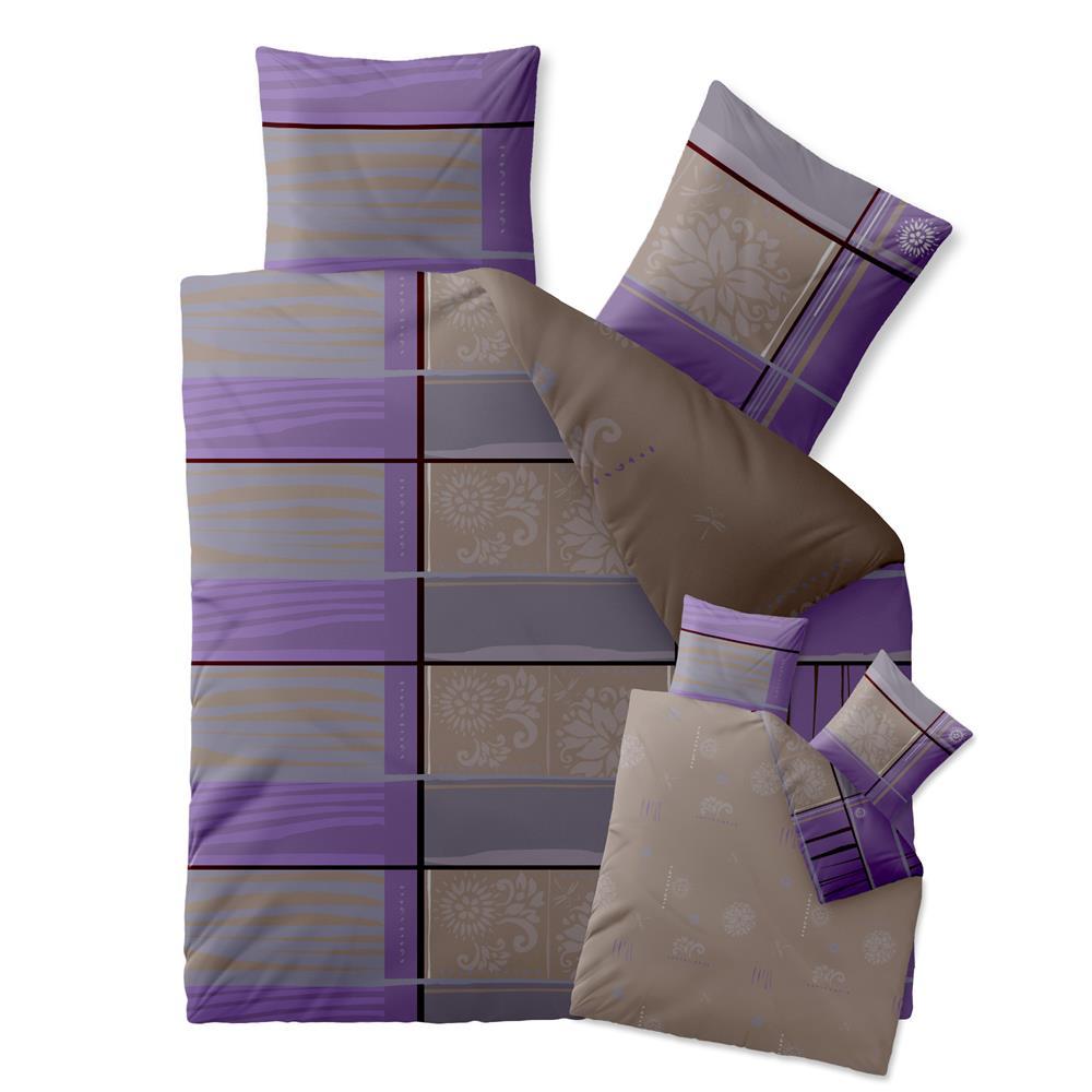 baumwolle bettw sche garnitur bergr e 200x220. Black Bedroom Furniture Sets. Home Design Ideas