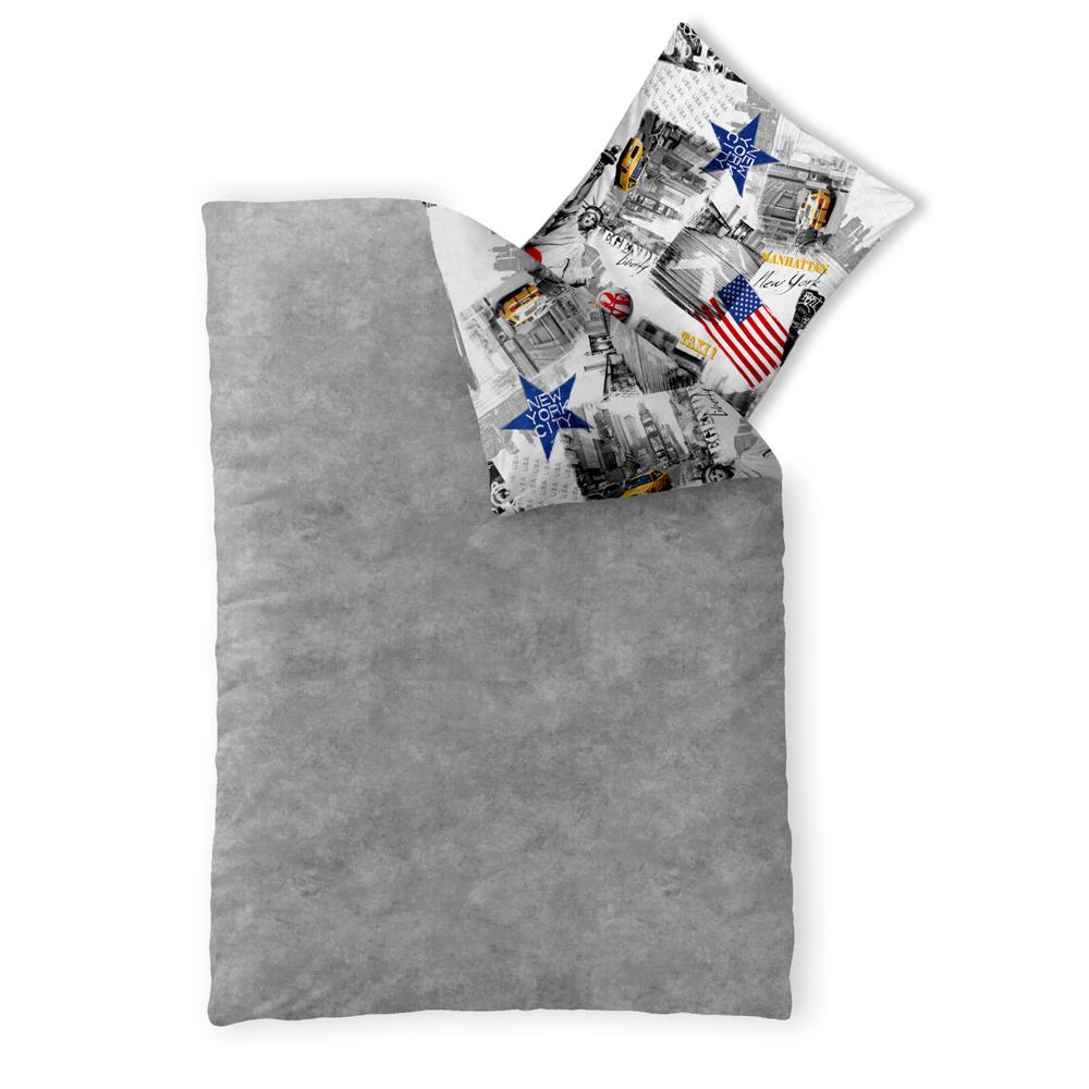 bettw sche garnitur jugend kinder baumwolle rei verschluss oeko tex fashion fun ebay. Black Bedroom Furniture Sets. Home Design Ideas