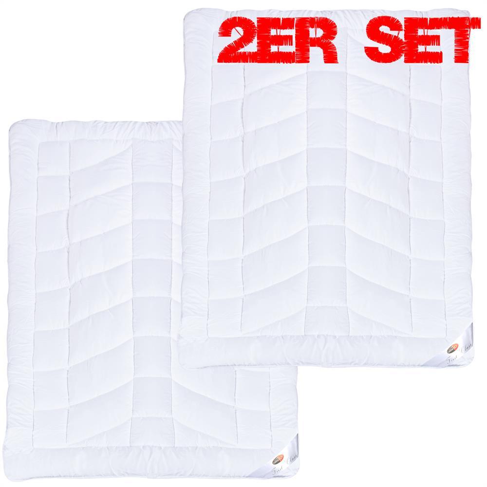 sommer steppdecke steppbett bettdecke microfaser leicht kochfest first class ebay. Black Bedroom Furniture Sets. Home Design Ideas