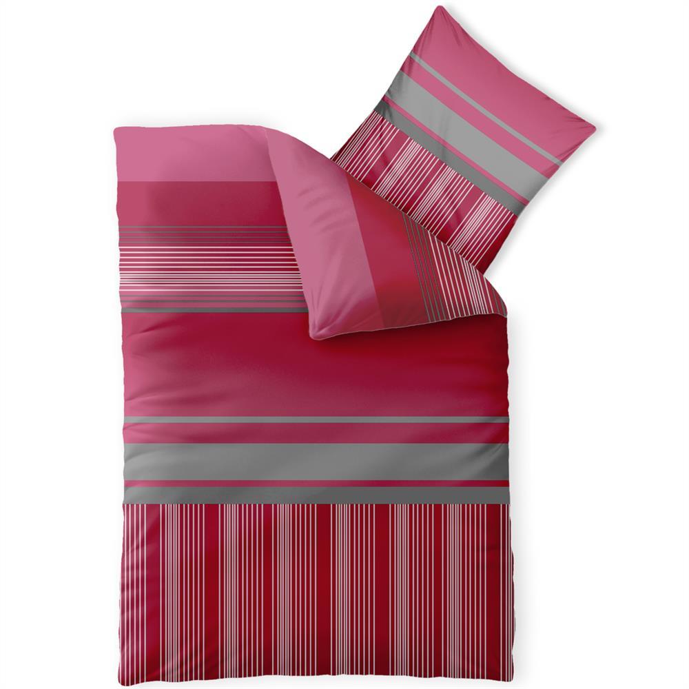 bettw sche garnitur mit rei verschluss microfaser viele. Black Bedroom Furniture Sets. Home Design Ideas