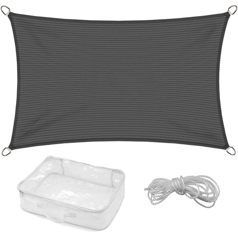 sonnensegel beschattung sonnenschutz sichtschutz carport garten 4 eckig rechteck ebay. Black Bedroom Furniture Sets. Home Design Ideas