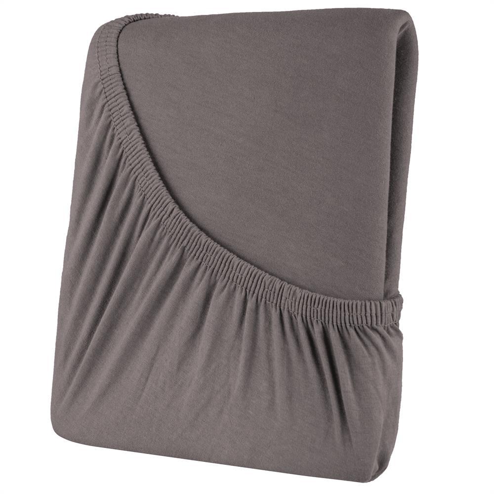 spannbettuch spannbettlaken bettlaken jersey baumwolle 90x200 100x200 high line ebay. Black Bedroom Furniture Sets. Home Design Ideas