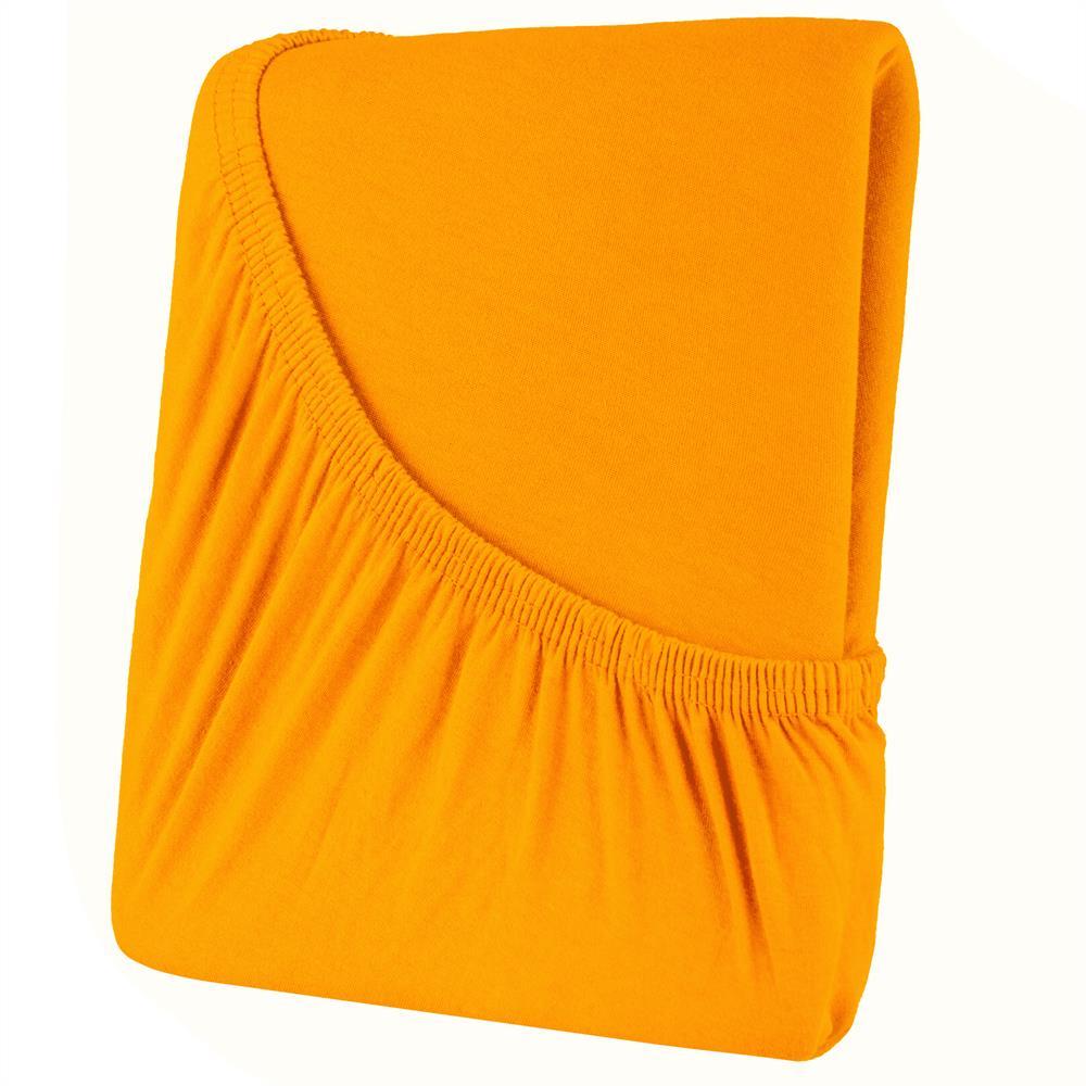 spannbettlaken spannbetttuch baumwolle jersey 200x200 rundumgummi high line ebay. Black Bedroom Furniture Sets. Home Design Ideas