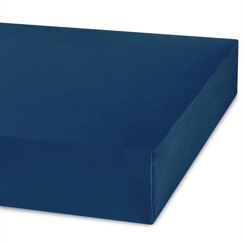 spannbettlaken spannbetttuch bettlaken jersey 90x200 100x200 microfaser jade ebay. Black Bedroom Furniture Sets. Home Design Ideas
