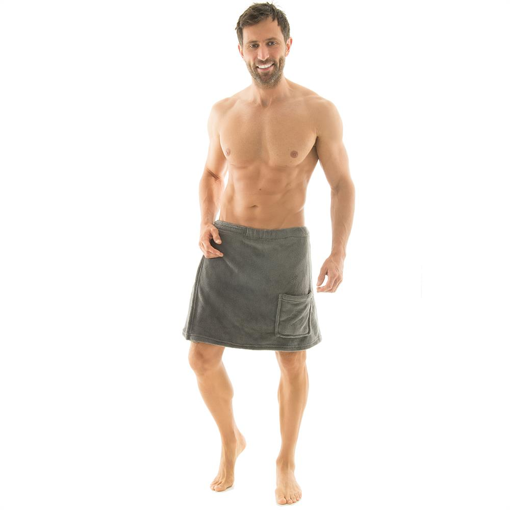 saunakilt herren sauna handtuch sarong kilt klettverschluss coralfleece malaga ebay. Black Bedroom Furniture Sets. Home Design Ideas