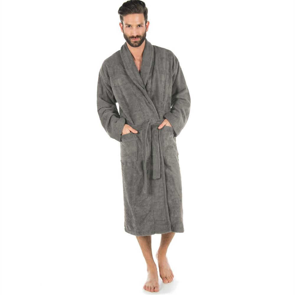 frottee bademantel morgenmantel sauna baumwolle damen. Black Bedroom Furniture Sets. Home Design Ideas