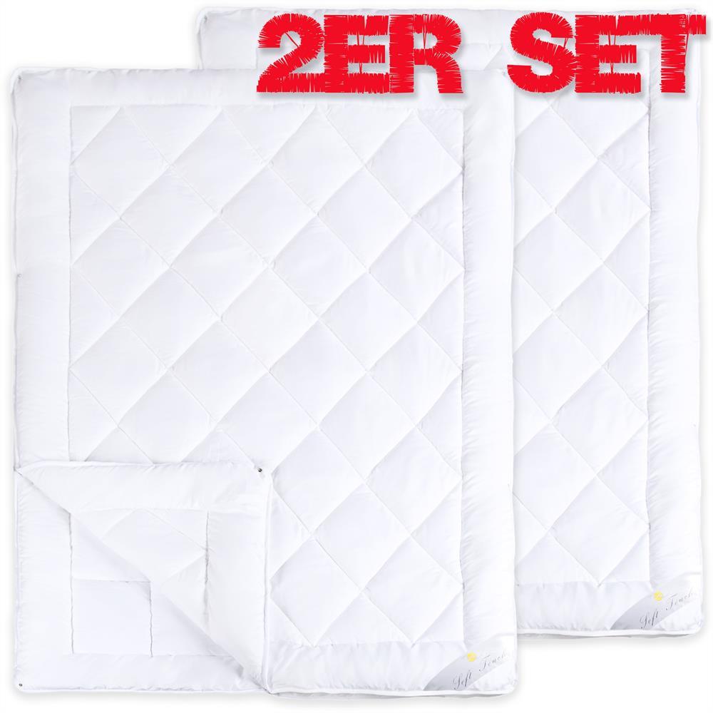 4 Jahreszeiten Steppdecke Steppbett Bettdecke Microfaser