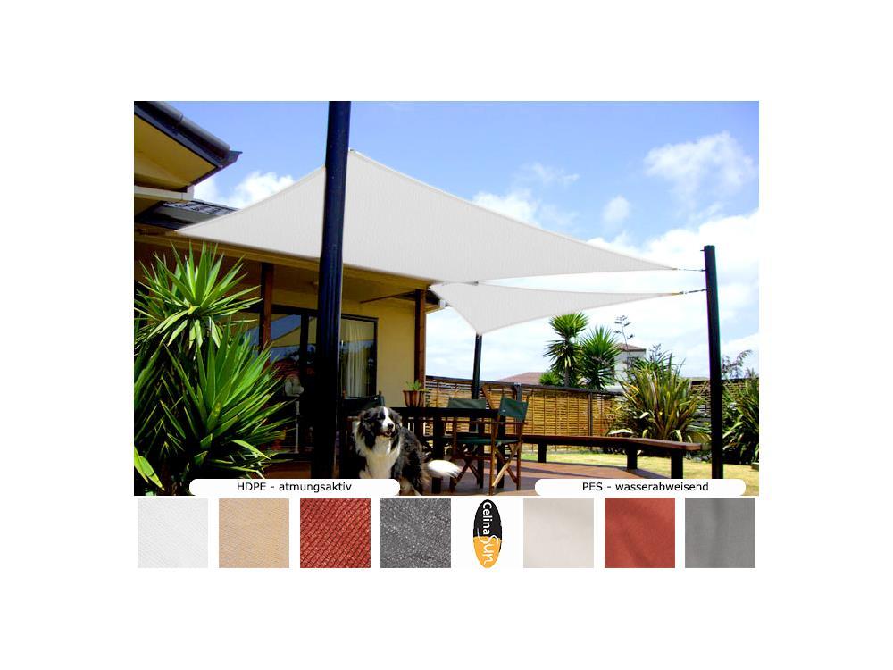 sonnensegel sonnenschutz beschattung segel garten terrasse. Black Bedroom Furniture Sets. Home Design Ideas