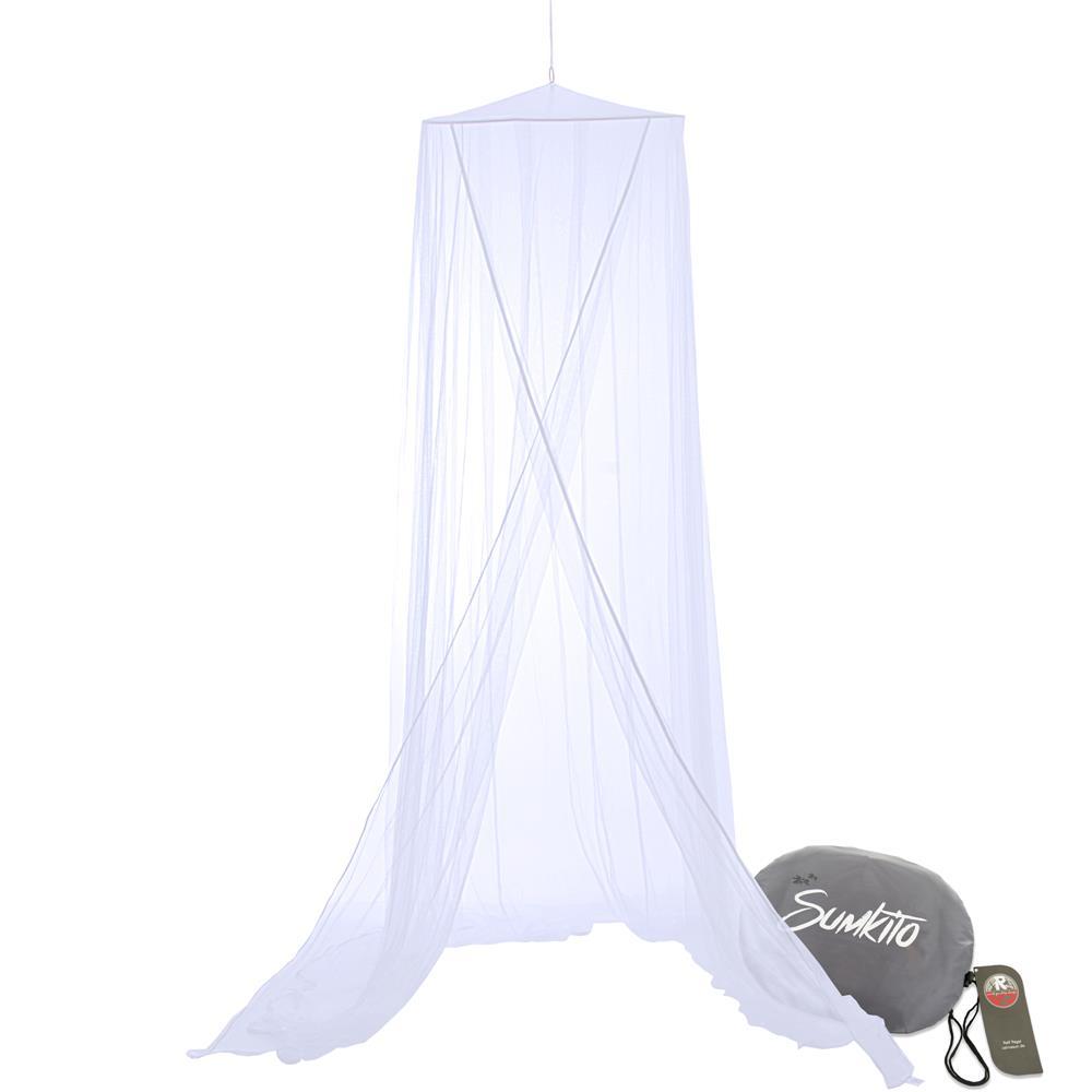 moskitonetz m ckennetz insekten fliegenschutz baldachin betthimmel reise sumkito ebay. Black Bedroom Furniture Sets. Home Design Ideas