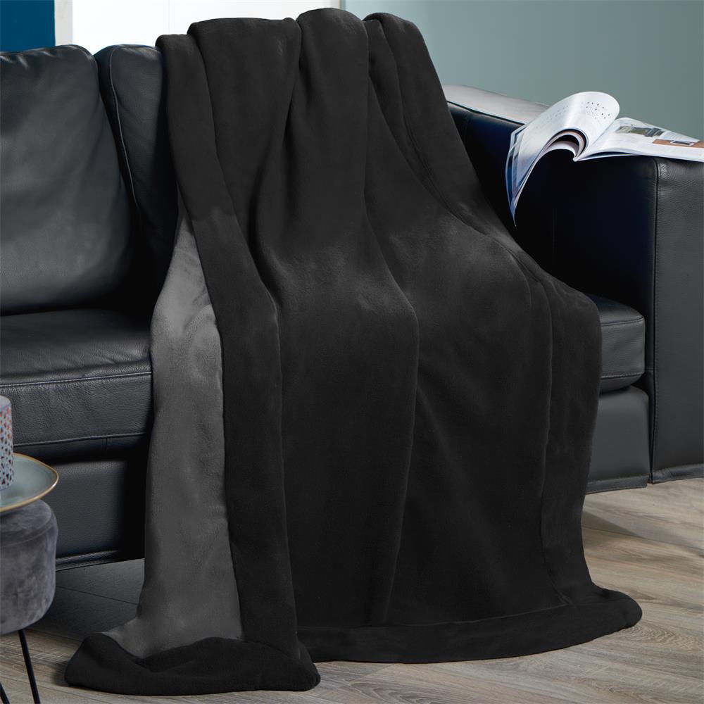 Kuscheldecke Sofadecke Tagesdecke Wohndecke Fleecedecke Microfaser Decke Toronto  eBay