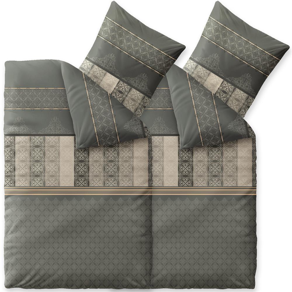 bettw sche garnitur winter rei verschlu biber w rmend. Black Bedroom Furniture Sets. Home Design Ideas
