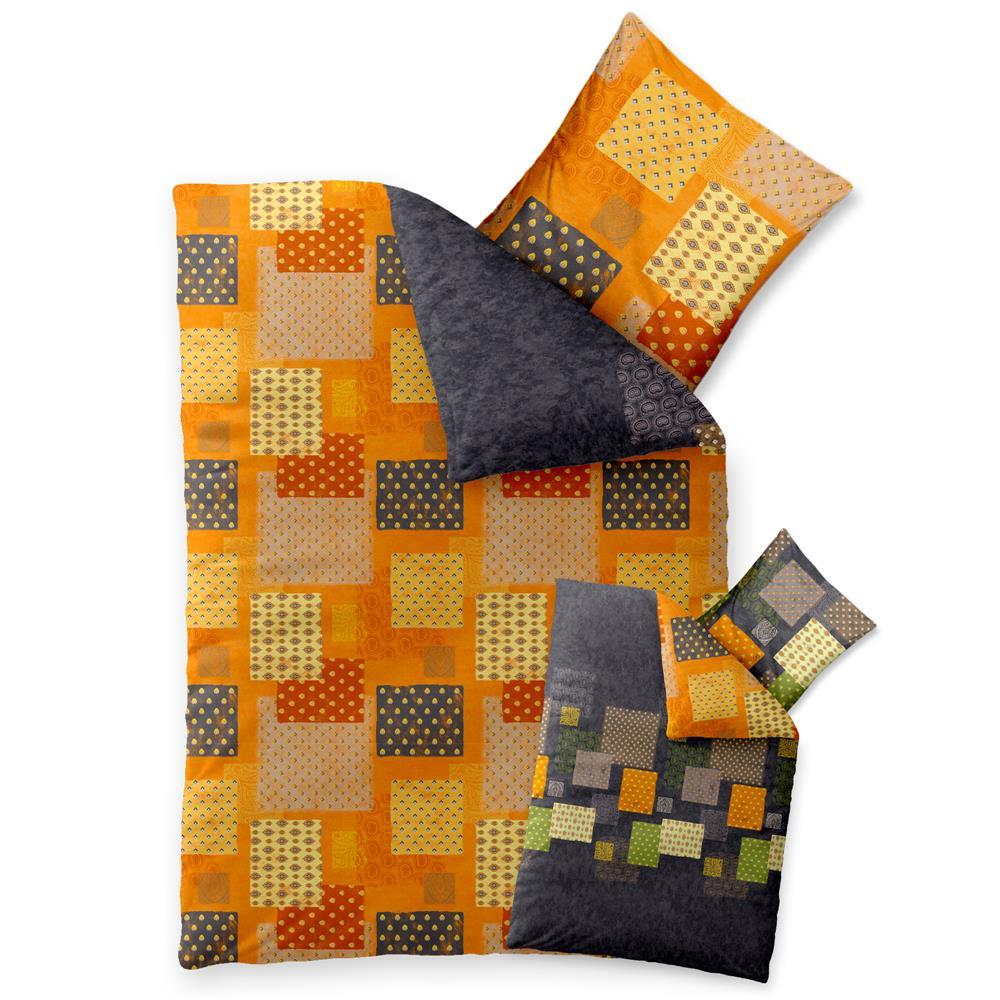 bettw sche garnitur bettgarnitur baumwolle renforc. Black Bedroom Furniture Sets. Home Design Ideas