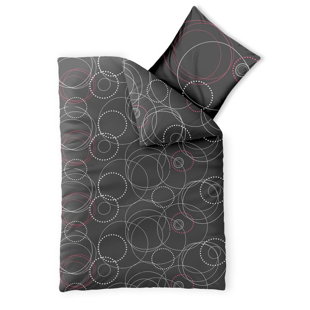 bettw sche 135x200 baumwolle garnitur rei verschluss. Black Bedroom Furniture Sets. Home Design Ideas