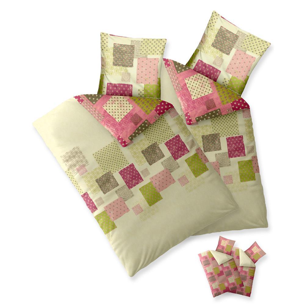 bettw sche bettgarnitur baumwolle 4 teilig 135x200 155x220 oeko tex trend ebay. Black Bedroom Furniture Sets. Home Design Ideas