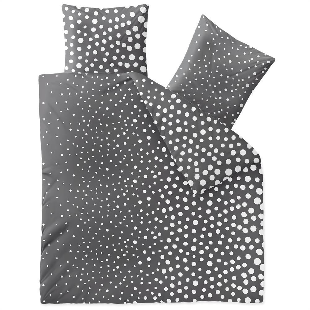 bettw sche garnitur baumwolle rei verschluss 3 teilig. Black Bedroom Furniture Sets. Home Design Ideas
